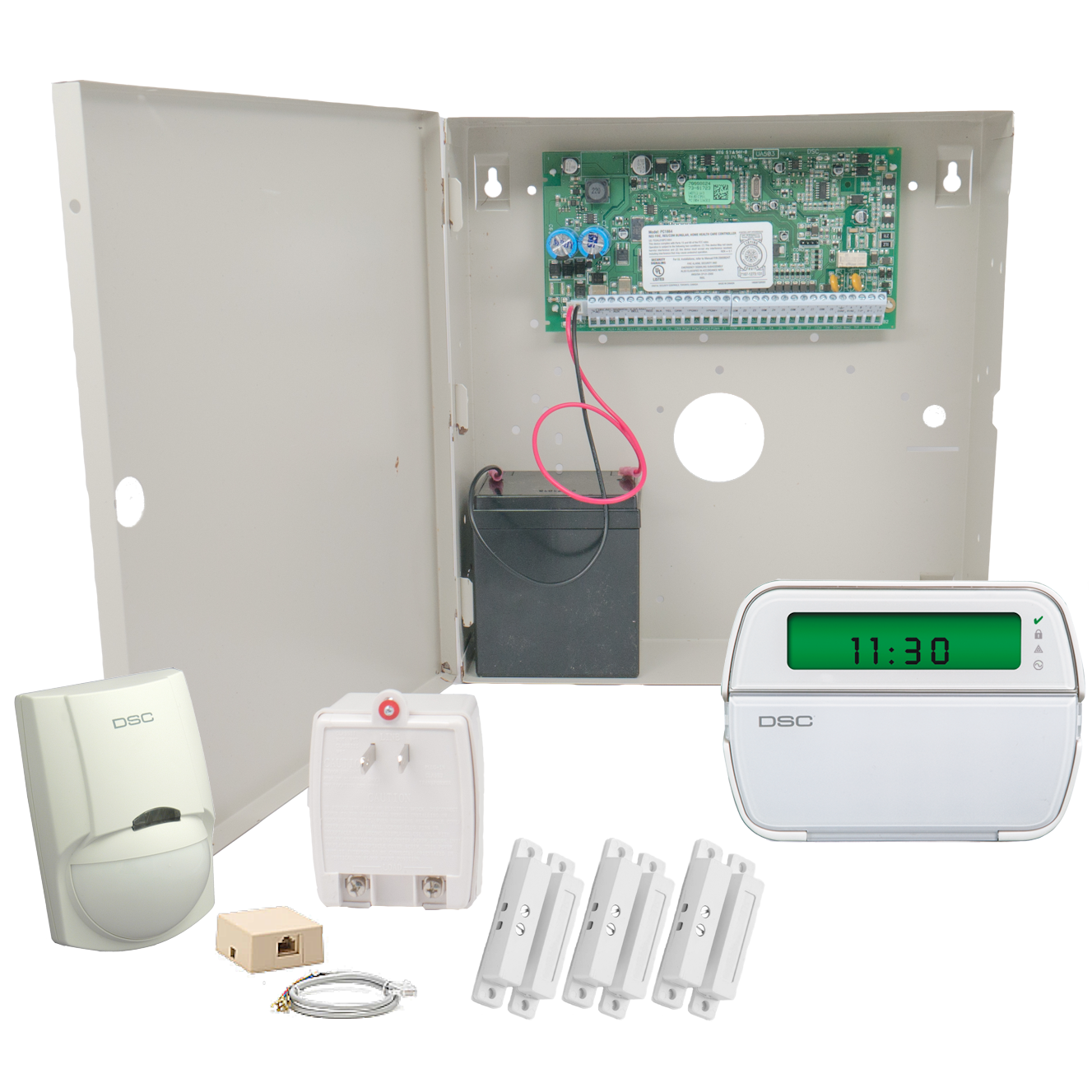 DSC PowerSeries PC1832 Phone Line & VoIP Alarm System - GEOARM Security