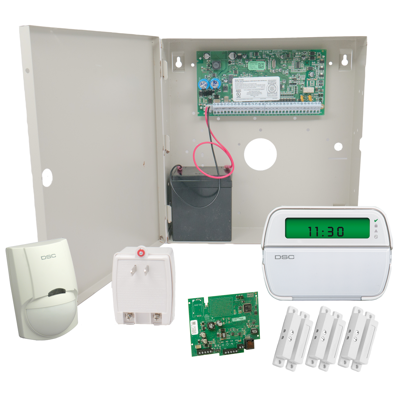 Hard Wired Home Alarm System - WIRE Center •