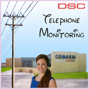 DSC Phone Line Alarm Monitoring Service