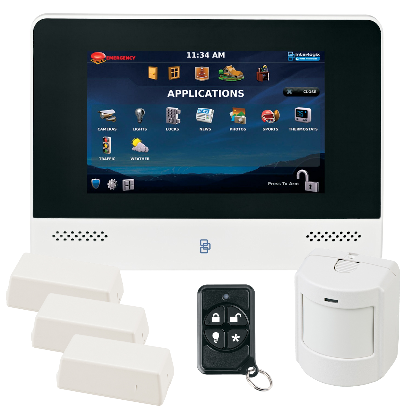 wireless home security system pdf