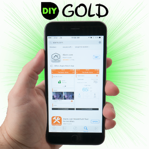 DIY GE Cellular Gold Interactive Commercial Alarm Monitoring Services