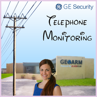 GE Phone Line Alarm Monitoring Service