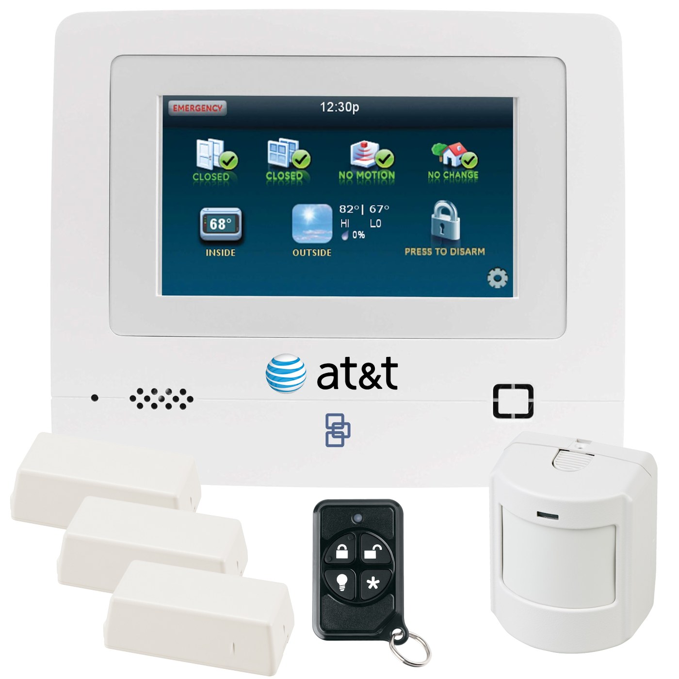 Interlogix Simon Xti 5 Cellular 3g Wireless Security System For Basic Structured Wiring Installation Adjacent To Panel Att Network