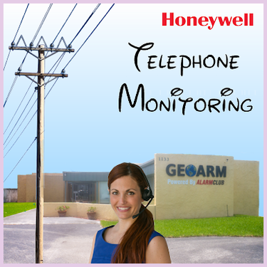 Honeywell Phone Line Alarm Monitoring Service
