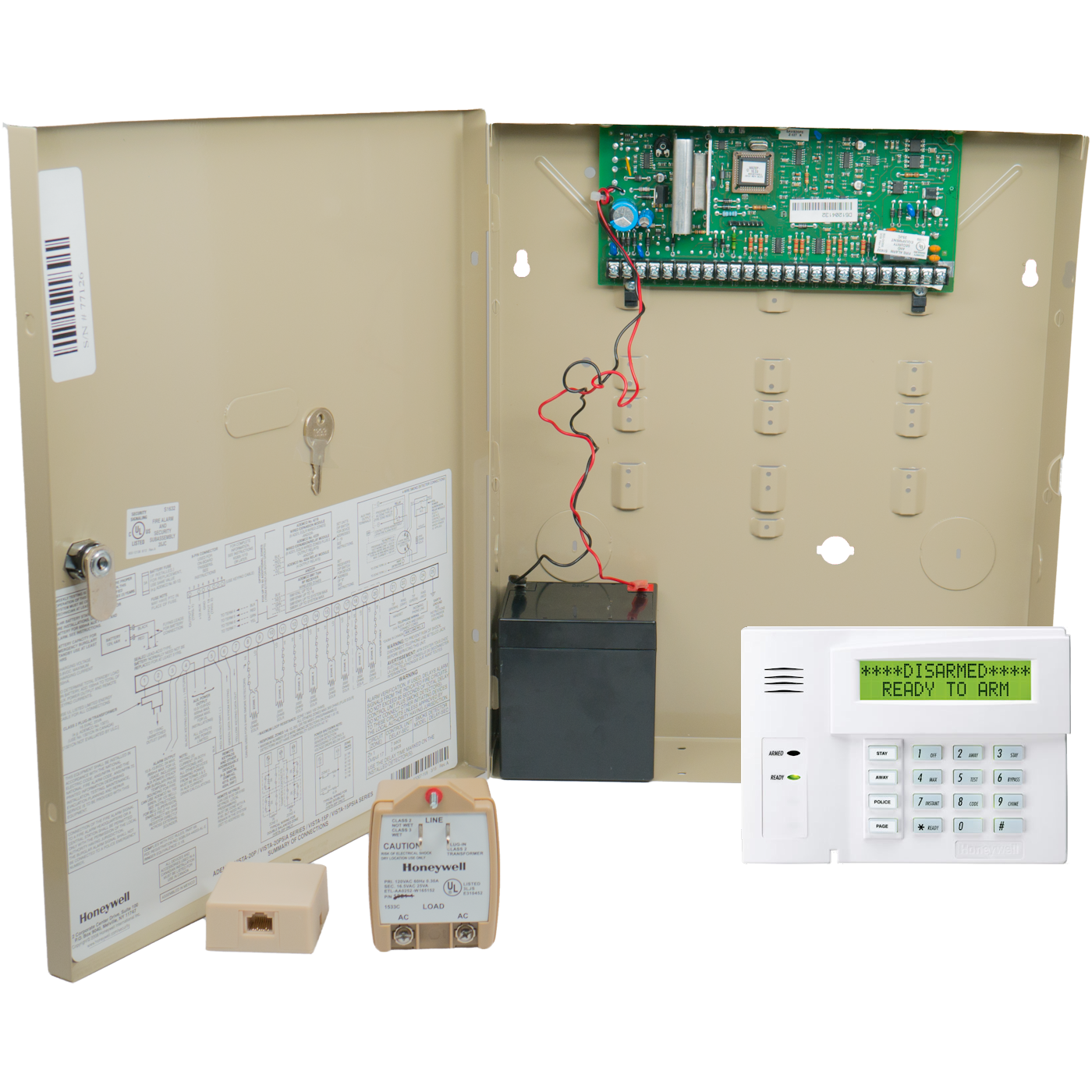 Honeywell vista 20p phone line voip hybrid security system solutioingenieria Image collections