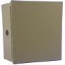 I7-ZADIBW98 - Metal Beige Box Can (8 x 7 x 3.5)