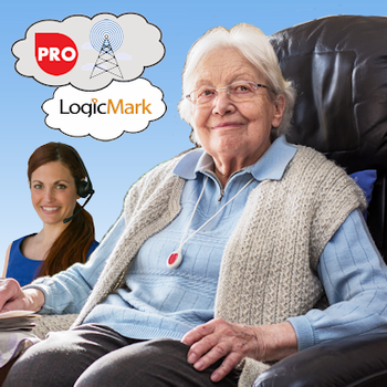 LogicMark Medical Alert PERS Cellular Monitoring Services