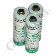 LS14500 - AA Cell 3.6V Lithium Alarm Battery (3-Pack)