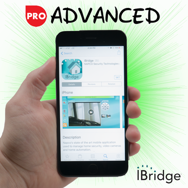 Napco Cellular iBridge Interactive Advanced Level Alarm Monitoring (for AT&T Network)