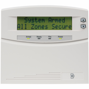 NX-148E-RF - GE NetworX 48-Zone LCD Alarm Keypad w/Door Cover & Integrated Wireless Receiver