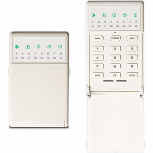 NX-1815E - Interlogix NetworX Voice Navigation White Alarm Keypad