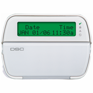 PK5500ENG - DSC PowerSeries 64-Zone LCD Full-Message Programming Alarm Keypad
