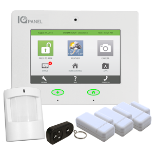 Qolsys IQ Panel Alarm Monitoring Form