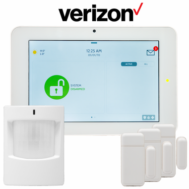 QK9201-AD0C-840 - Qolsys IQ Panel 2 Wireless Security System for Verizon LTE (3-1 Kit)