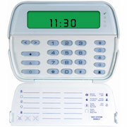 RFK5501 - DSC PowerSeries 64-Zone LCD Picture ICON Alarm Keypad & Integrated 32-Zone Wireless Receiver