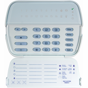RFK5516 - DSC PowerSeries 16-Zone LCD Picture ICON Alarm Keypad & Integrated Wireless Receiver