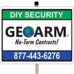 Security Signs & Stickers