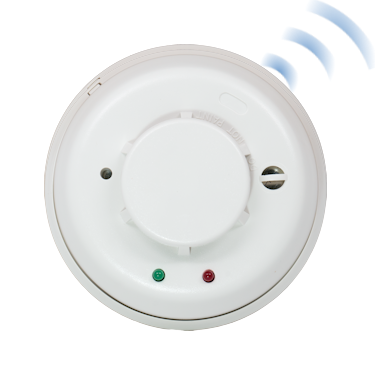 Wireless Heat & Smoke Detectors
