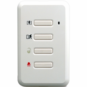 WS4979 - DSC Wireless 4-Button Remote Alarm Keypad