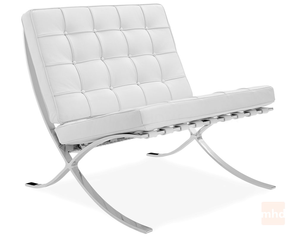Barcelona Chair White barcelona chair replica – manhattan home design