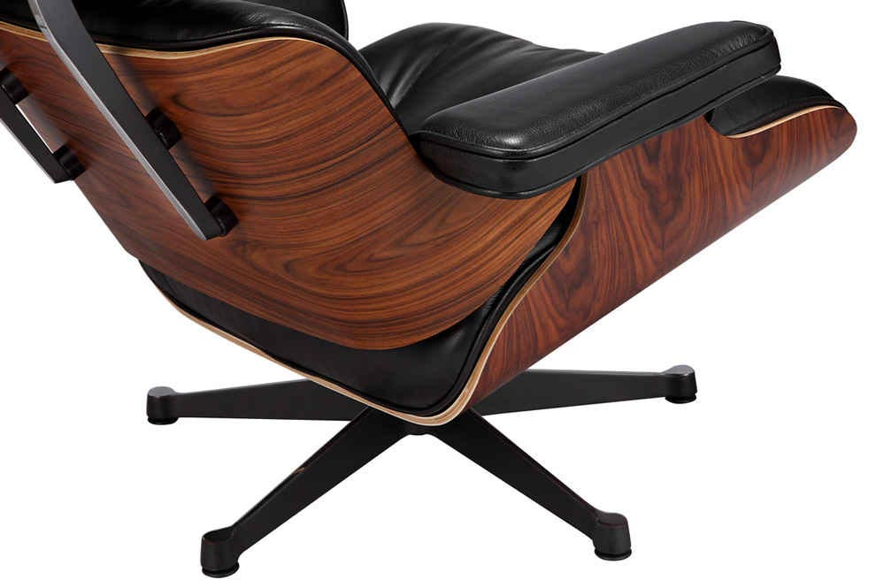 eames lounge chair vitra black manhattan home design. Black Bedroom Furniture Sets. Home Design Ideas