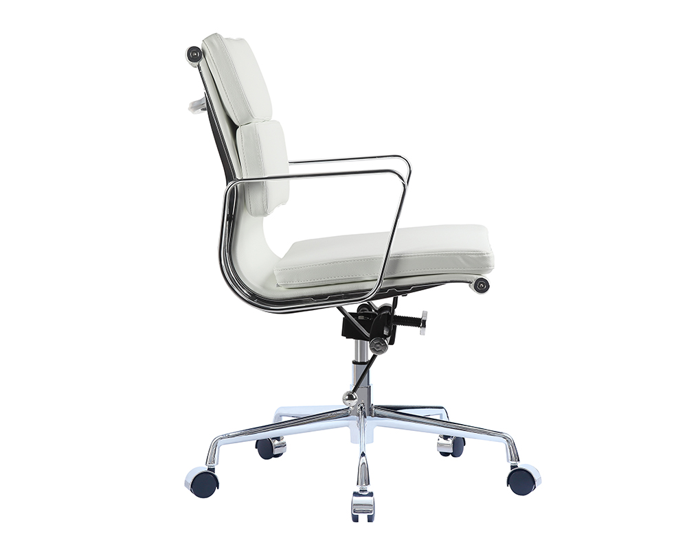 Eames soft pad management chair replica eames office chair for Eames chair replica schweiz