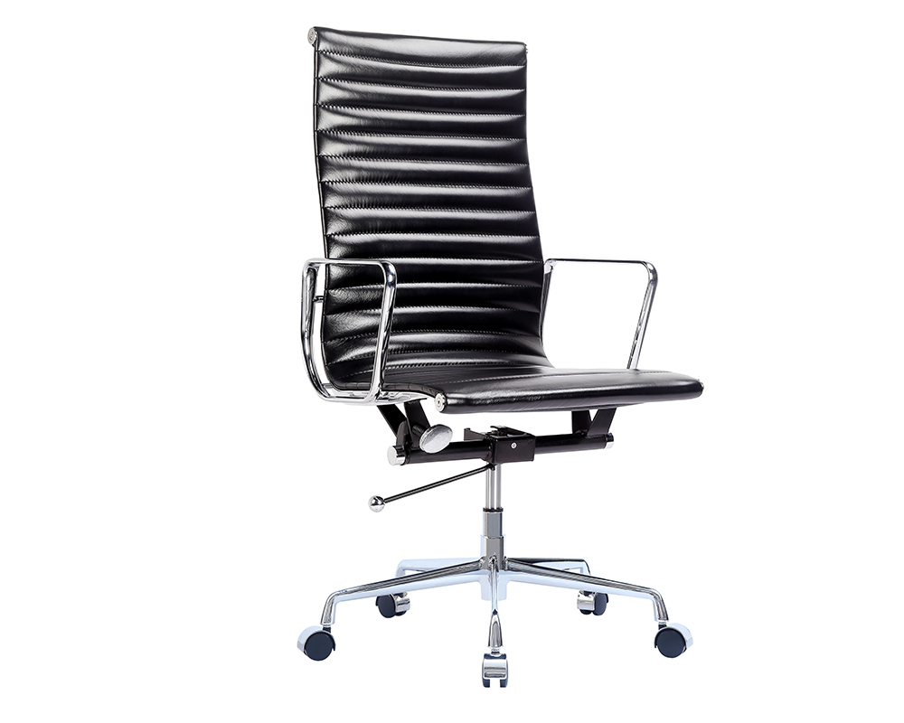 ... Eames Office Chair | Anilline Ribbed Executive Chair Style 8 ...