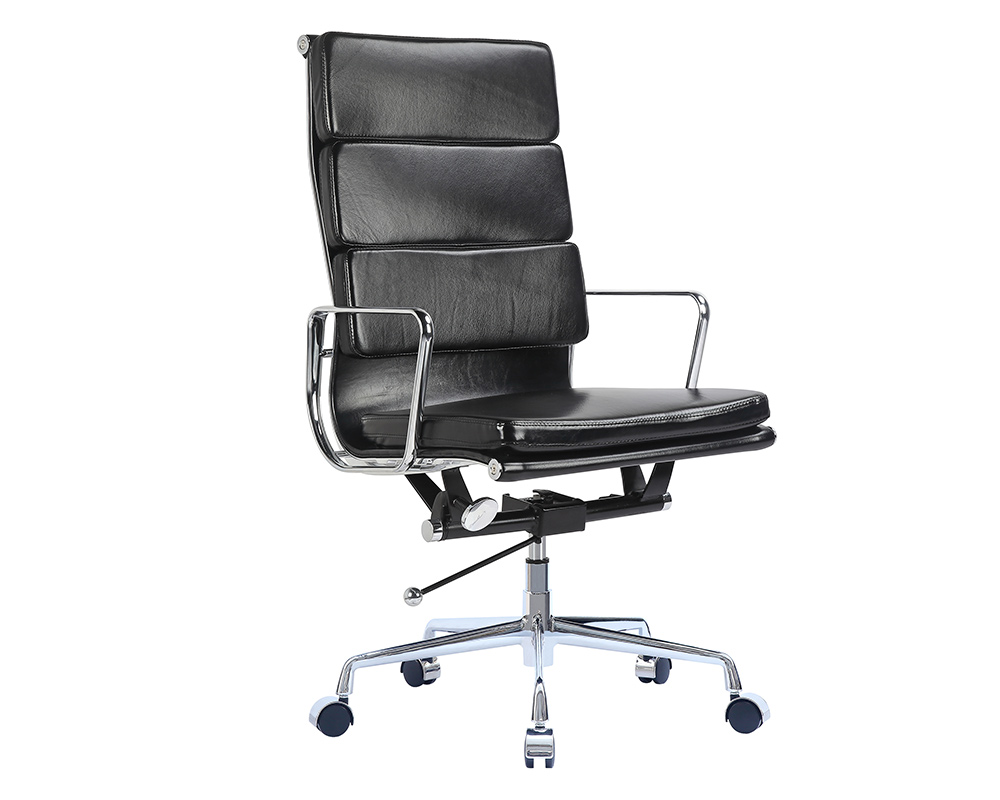eames soft pad executive chair eames office chair. Black Bedroom Furniture Sets. Home Design Ideas