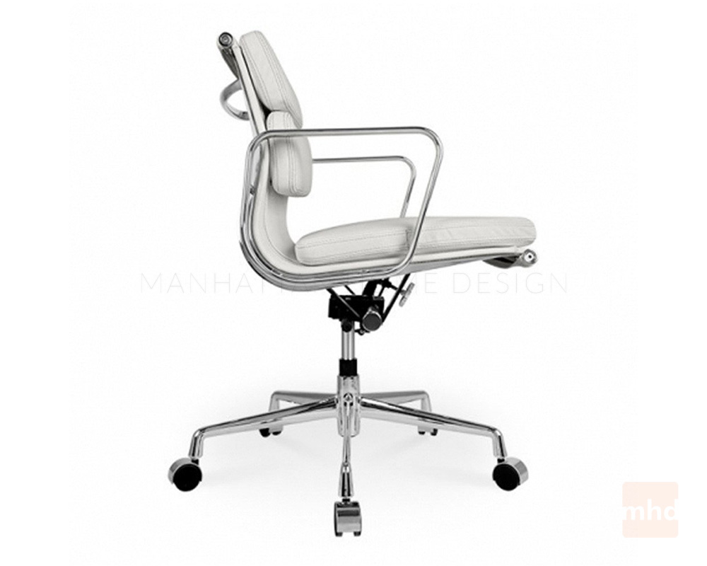 Eames soft pad management chair replica eames office chair for Eames aluminium chair replica