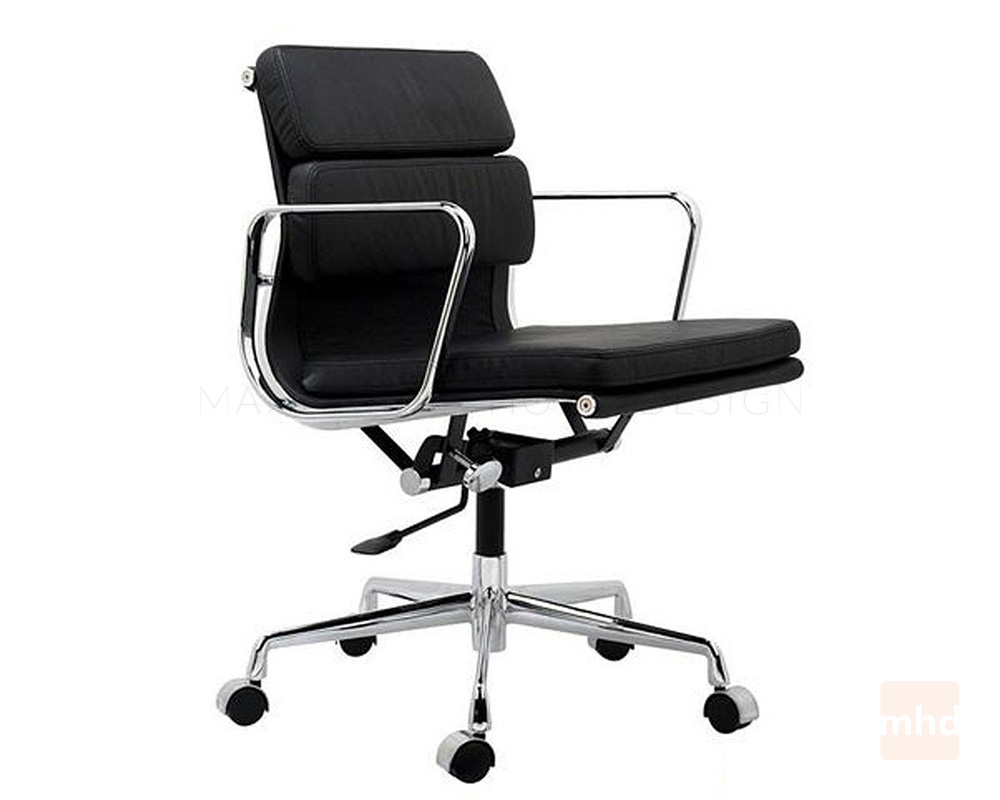 Eames soft pad management chair replica eames office chair for Imitation eames