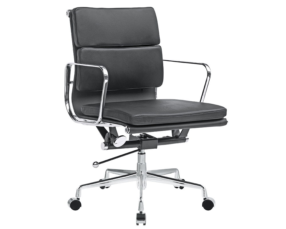 Eames Soft Pad Lounge Chair eames soft pad management chair replica - eames office chair