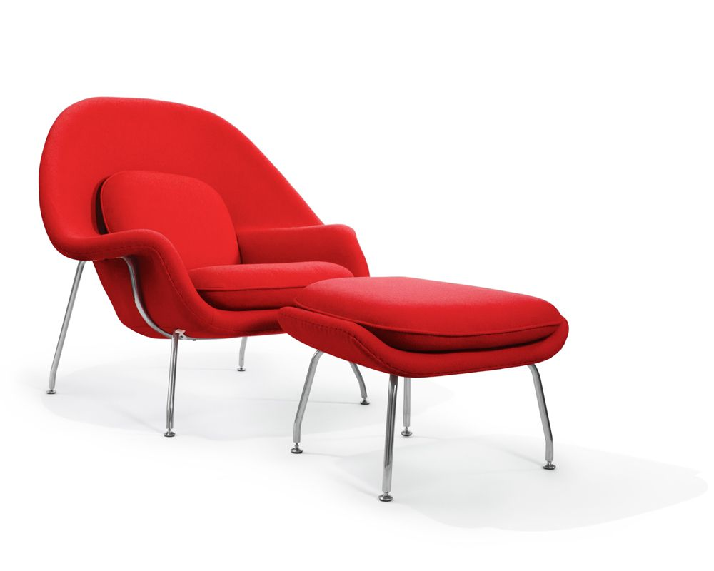 Knoll womb chair - Red