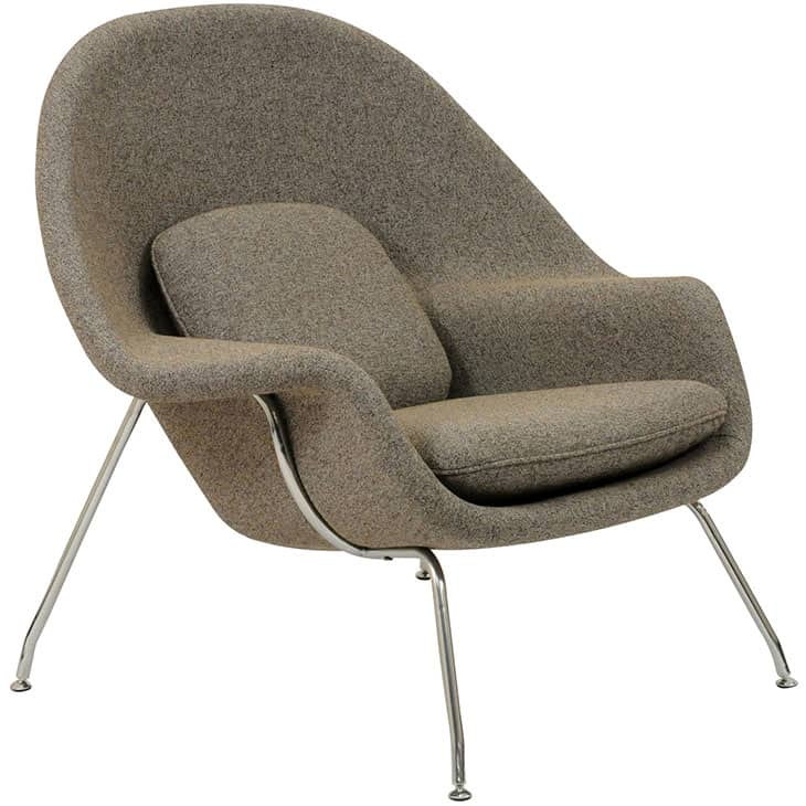 Womb chair ottoman manhattan home design - Saarinen womb chair reproduction ...