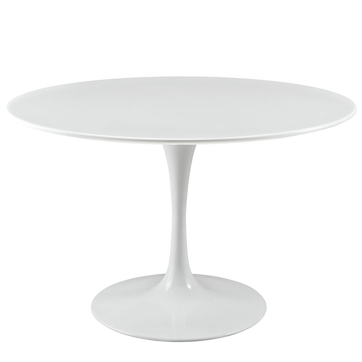 ... Tulip Table Replica   Round WoodTop Dining Table Style 10 ...