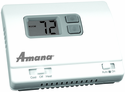 Amana 2246002 PTAC Wall Thermostat Heat Strip Only, Non Programmable, Rectangular Shape, One Stage Heat, One Stage Cool