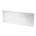 Amana AGK01CB PTAC Architectural Aluminum Exterior Grille, Clear