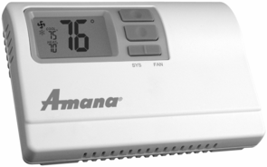 amana ptac wall thermostats cool running hospitality supply llc