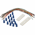 Amana PWHK01C Wire Harness Kit, Provides Connection From The 14-Pin Or 18-Pin Terminal Strip On The PTAC Control Board To Hard Wire Thermostat, Kit Includes 14-Pin And 18-Pin Female Housing With 18 Jumper Wires And Wire Nuts, Use For All Amana PTACs