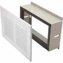 "Amana TDK02B Terminal Duct Kit, Sleeve And Grille For Fitting A Duct Extension Through The Wall, 11-1/4W x 6""H"