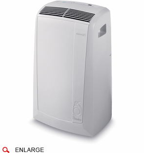 Delonghi pacn120e 12 000 btu portable air to air with for 120 volt window air conditioner