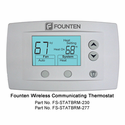 Founten FS-STATBRM-230 Wireless Communicating Thermostat, Large Display, Current Temperature and Active Settings Displayed