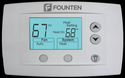 Founten FS-STATBRM-277 Wireless Communicating Thermostat, Large Display, Current Temperature and Active Settings Displayed