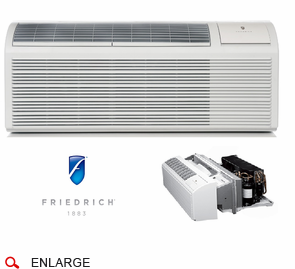 Friedrich Pdh15k5sg Ptac Air Conditioner With Heat Pump