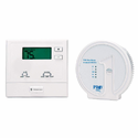 Friedrich WRT1 PTAC Wireless Wall Thermostat with Base Module, Large Blue Backlighting Face for Easy Viewing, Single Stage Compatable with Heat Pump or Heat Cool Models