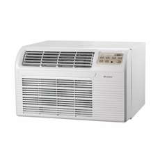 GREE 26TTW07HP230V1A Through the Wall Air Conditioner with HEAT PUMP, 7,400 BTU, 230/208 Volt, EER Rating 10.6, Electronic Controls with Remote, Wall Sleeves Needed for New Installations Sold Separately