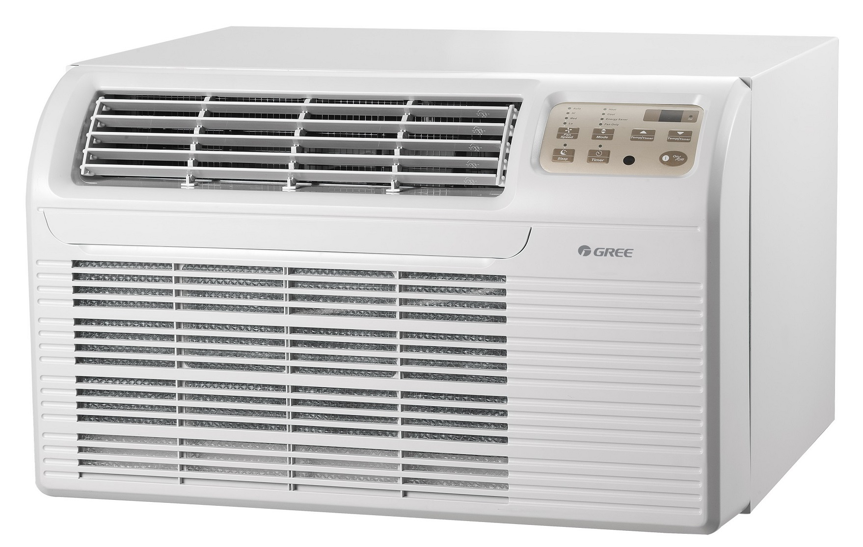 gree through the wall air conditioner with heat pump cool running air u0026 more