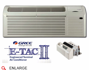 Gree Etac2 12hc265va A Ptac Air Conditioner With Electric