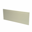 First America GRILLE-ALU-BEIGE Architectural Aluminum PTAC Grille, Beige Color