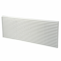 First America GRILLE-PLA-WHITE Architectural Polymer PTAC Grille, Color White