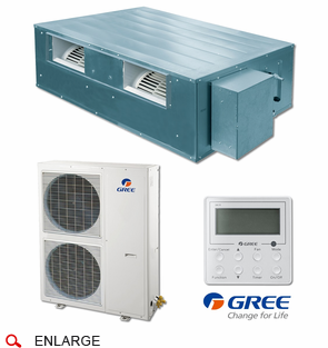 Gree Umat48hp230v1ads Slim Duct Indoor Unit Cool Running